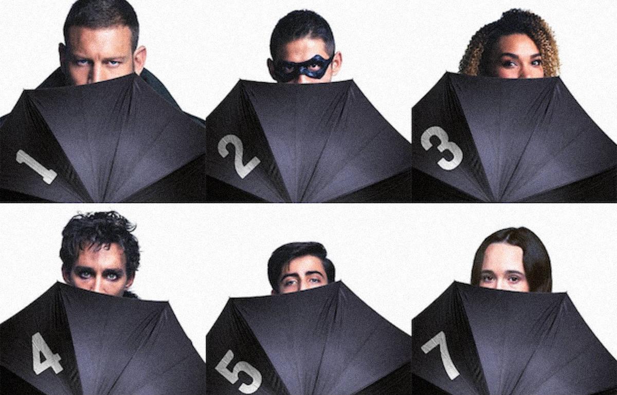 The Umbrella Academy, supereroi goth