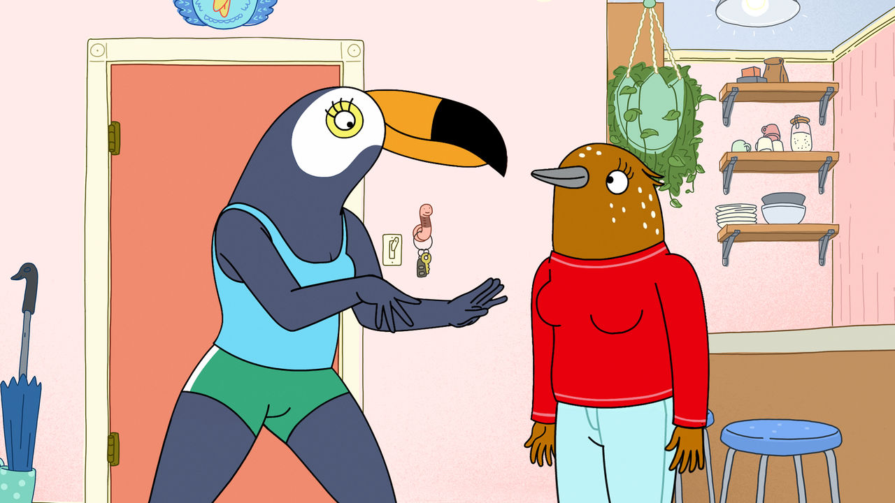 Tuca and Bertie, girl power nella nuova serie animata Netflix