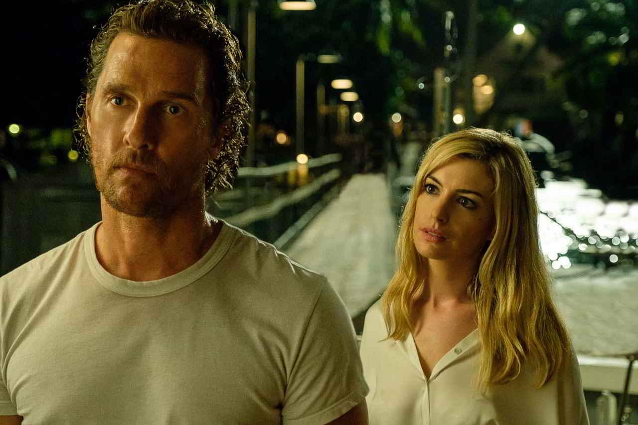 Matthew McConaughey al cinema con Serenity – L'isola dell'Inganno