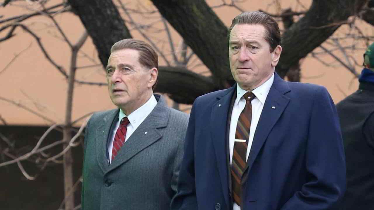 Robert De Niro, Al Pacino e Joe Pesci il trio di The Irishman