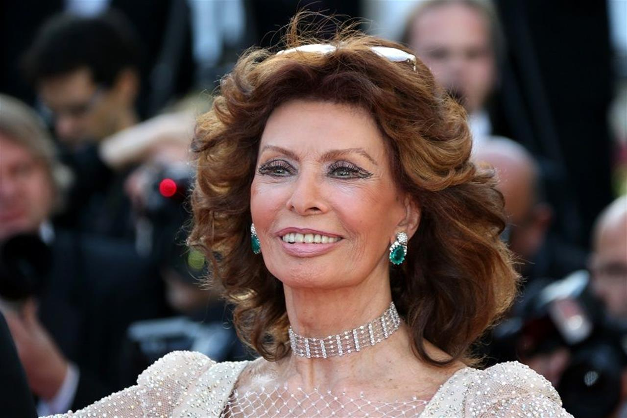 Sophia Loren a Bari sul set di La Vita Davanti a Sé