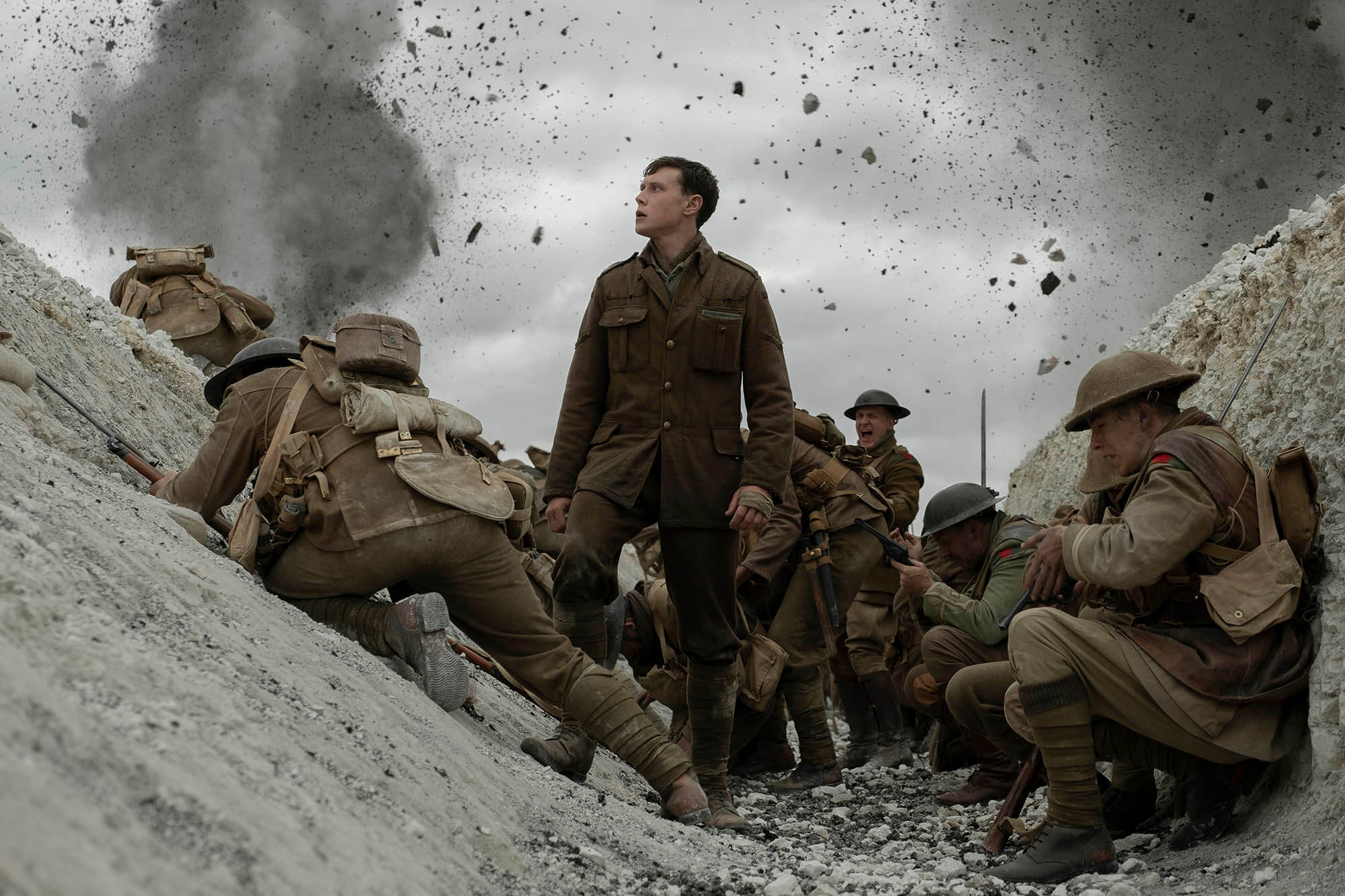 1917, il regista Sam Mendes racconta la Grande Guerra