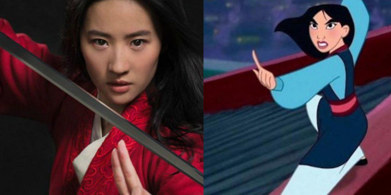 Le differenze tra il live-action e il film d'animazione di Mulan