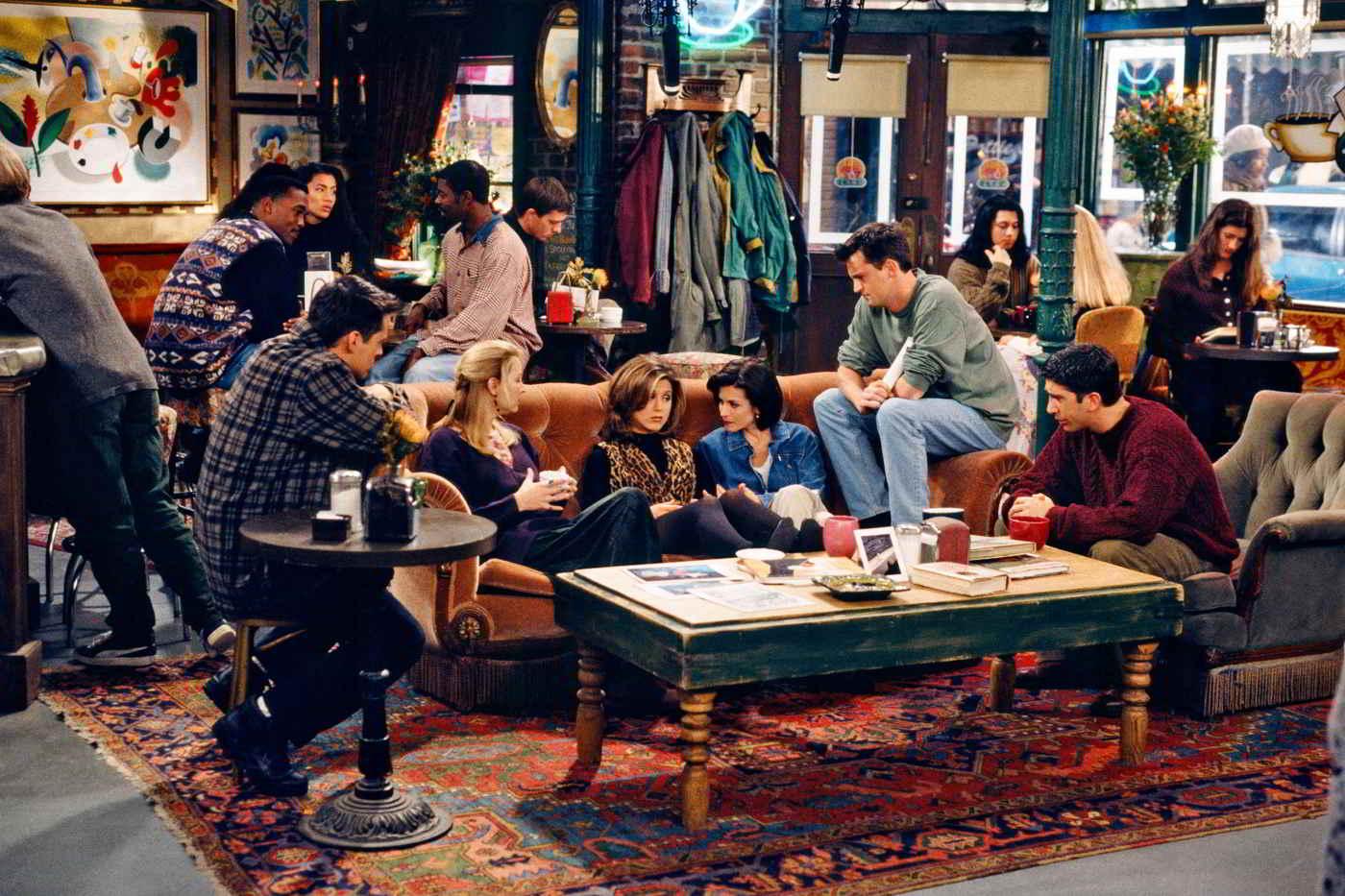 Friends: tutti i segreti del Central Perk